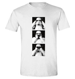 Star Wars T-Shirt Three Trooper