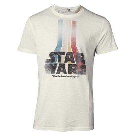 Star Wars T-Shirt Retro Regenbogen