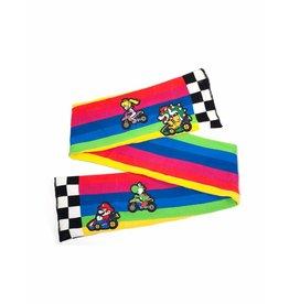 Nintendo Schal Mario Kart Rainbow Road