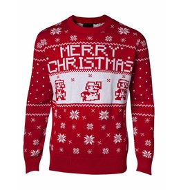 Nintendo Christmas Sweater Super Mario