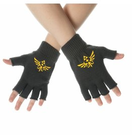 The Legend of Zelda Fingerlose Handschschuhe Logo
