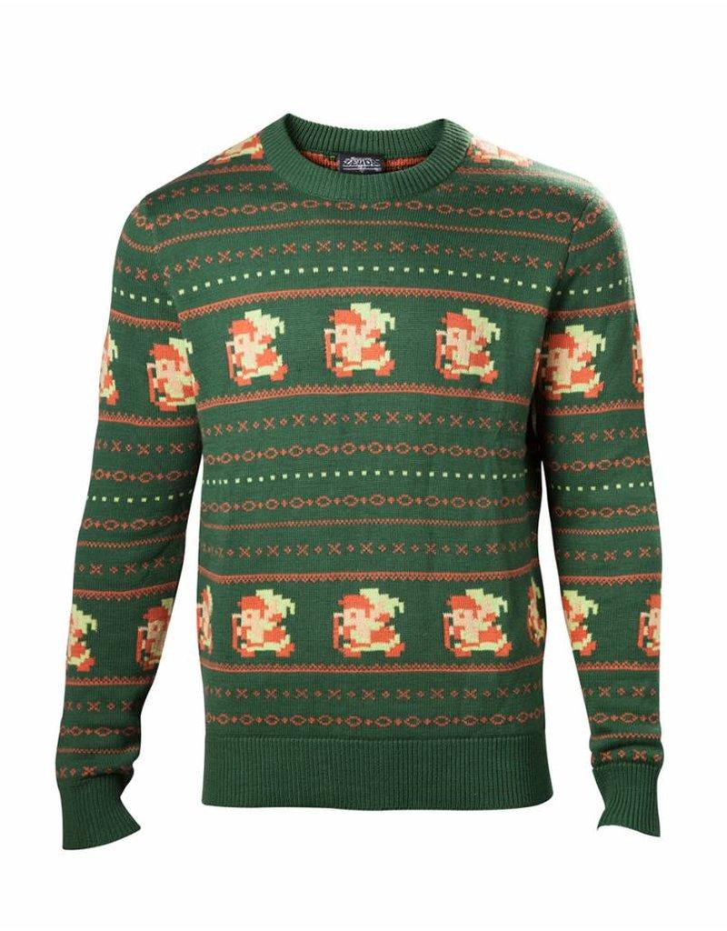 The Legend of Zelda Weihnachts-Sweater Pixel Link