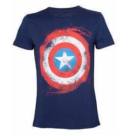 Marvel T-Shirt Captain America Schield