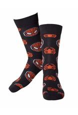 Marvel Socks Spider-Man Mask & Logo