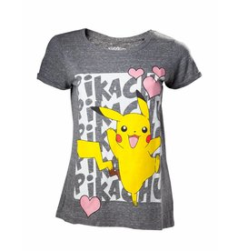 Pokémon Damen T-Shirt Pikachu Love