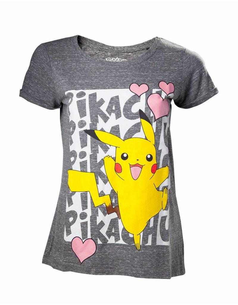 c04a4af4 Pokémon - Women T-Shirt Pikachu Love - merchbuddies