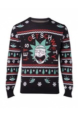 Rick and Morty Christmas Sweater Let's Get Schwifty