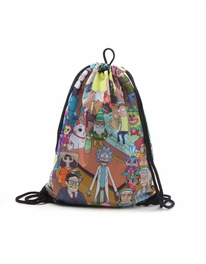Rick and Morty Gymbag Charaktere Sublimationsdruck
