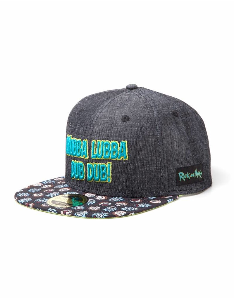 "Rick and Morty Basecap ""Wubba Lubba Dub Dub"""