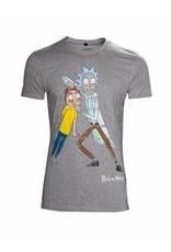 Rick and Morty T-Shirt Augen Spreizen