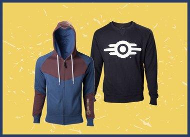 Hoodies, Pullover und Sweater