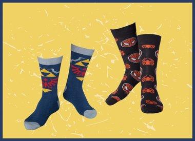 Socken und Strümpfe