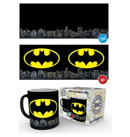 DC Thermoeffekt Tasse Batman Logo