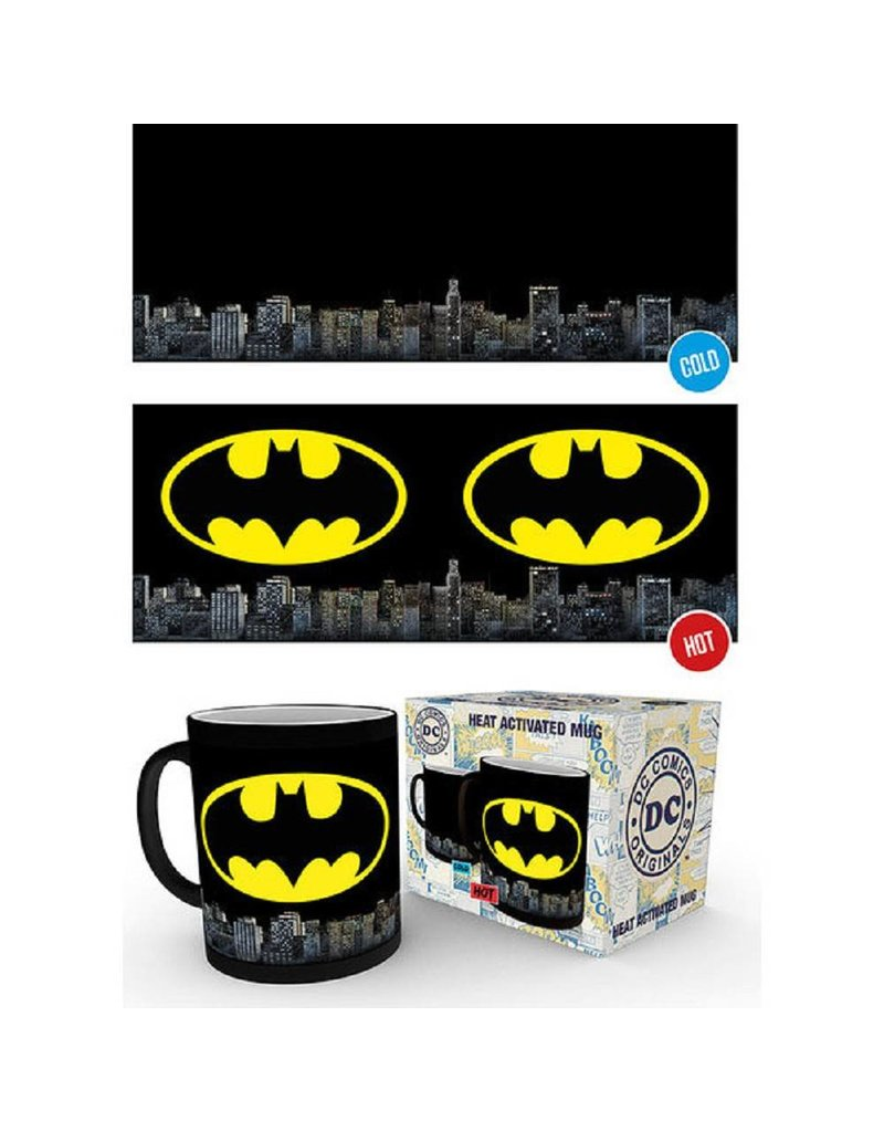 DC Thermoeffekt Tasse Batman Logo