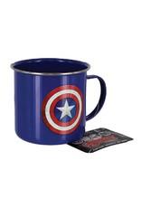 Marvel Metall Tasse Captain America