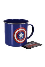 Marvel Tin Mug Captain America