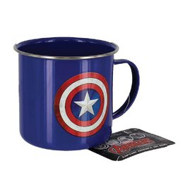 Marvel Metall Tasse Captain America