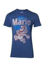 Nintendo Super Mario Running Vintage T-Shirt