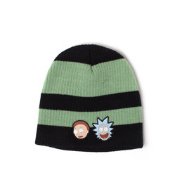 Rick and Morty Striped Beanie