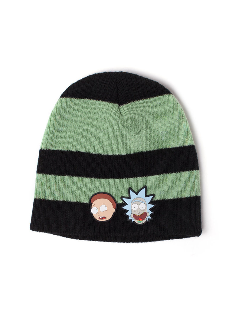 Rick and Morty Gestreifter Beanie