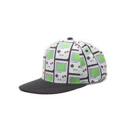 Nintendo Gameboy Snapback With Allover Print