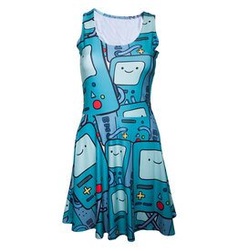Adventure Time BMO All Over Printed Dress
