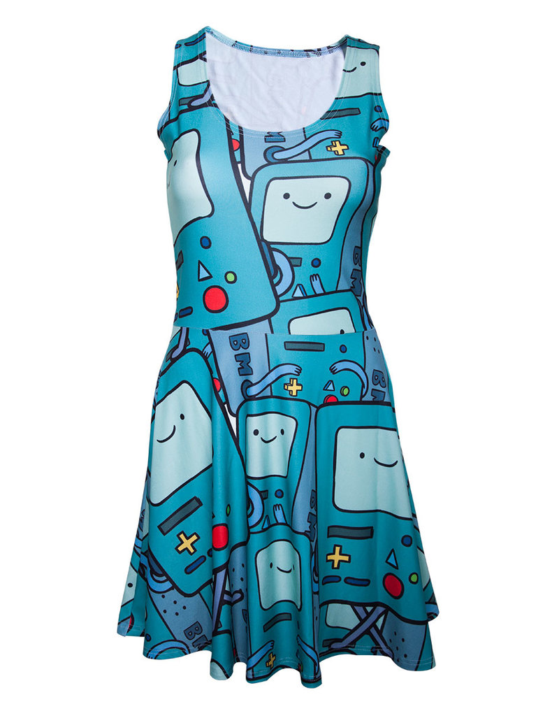 Adventure Time Beemo All Over Print Kleid