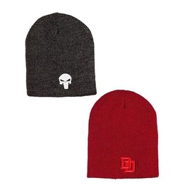 Marvel Reversible Beanie Daredevil/Punisher