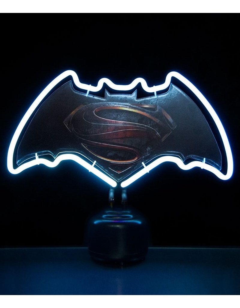 DC Batman v Superman Neon Light Logo 24 x 30 cm