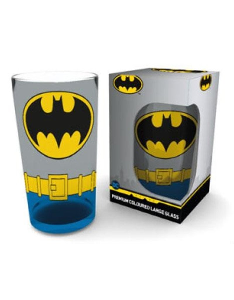 DC Batman Premium Pint Glass Costume Wrap