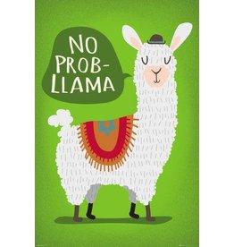 Lama Poster - No Probllama 61 x 91 cm