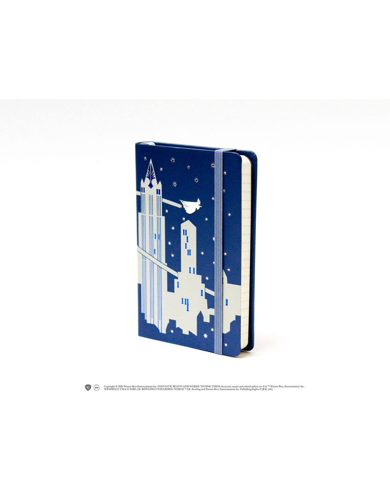 Phantastische Tierwesen Pocket Journal Skyline (DIN A6)