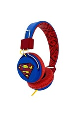 DC Superman Teen Headphones Vintage Logo