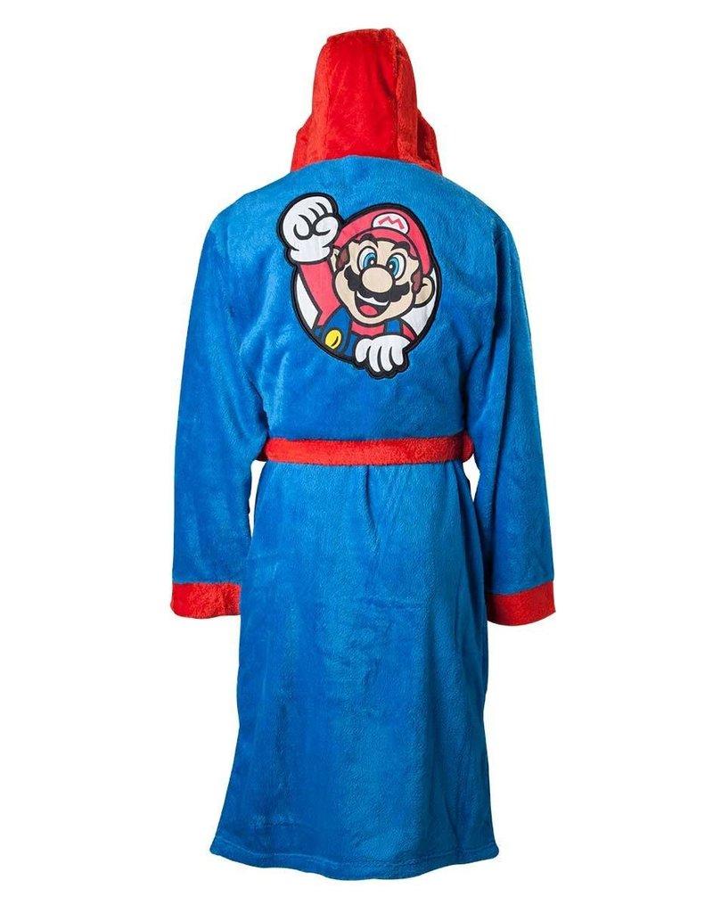Nintendo Fleece Bathrobe Mario L/XL/XXL