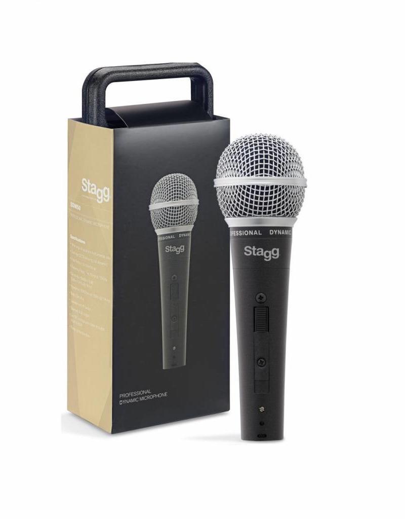 Zang en instrument microfoon  met case en kabel
