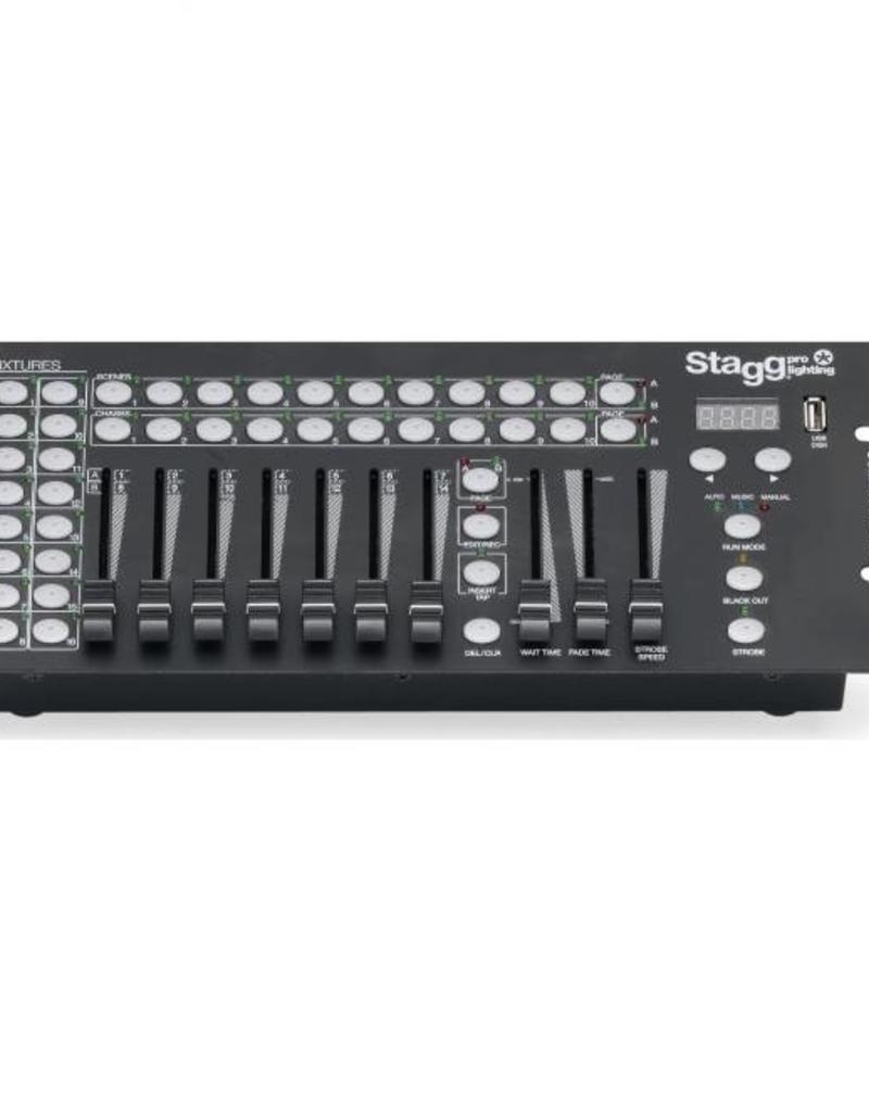 Stagg COMMANDOR 10-2 EU 10-CHAN DMX LIGHT CONTROLER