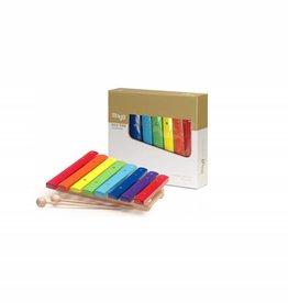Xylofoon voor kids eén octaaf regenboog 3+