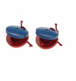 Plastic castagnetten - paar