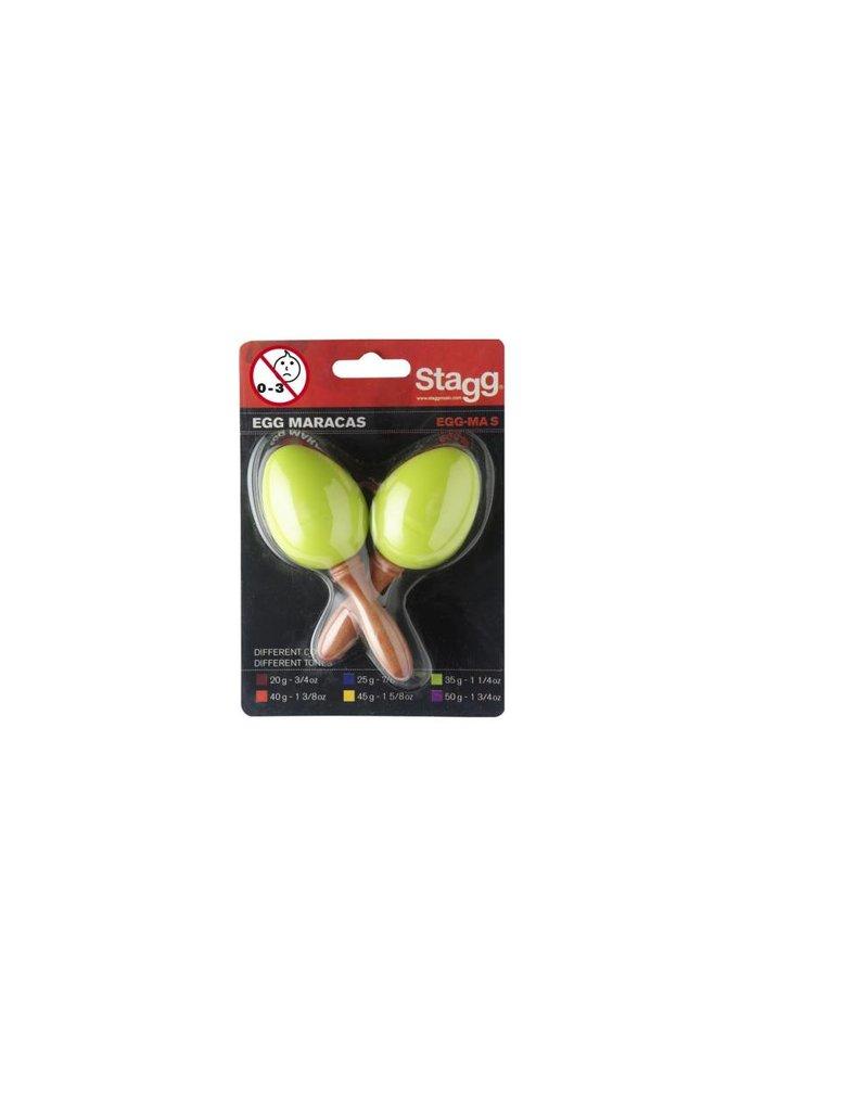 Egg Maracas groen