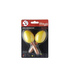 Egg Maracas geel