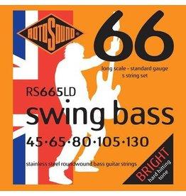 Rotosound Rotosound  RS665 LD Swing Bass  5 snarenset basgitaar