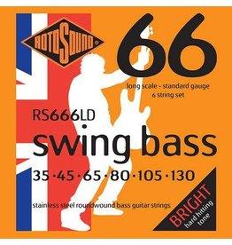 Rotosound Rotosound  RS666 LD Swing Bass  6 snarenset basgitaar