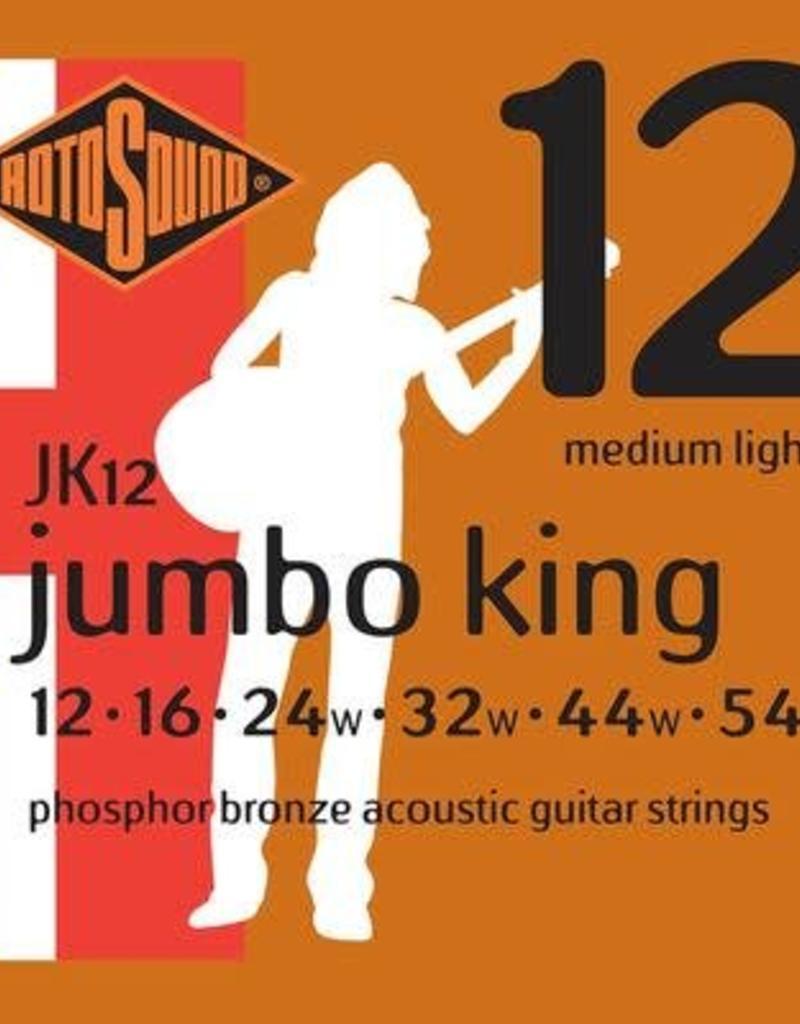Rotosound Rotosound JK 12 snaren set akoestisch 12-54 phospor bronze