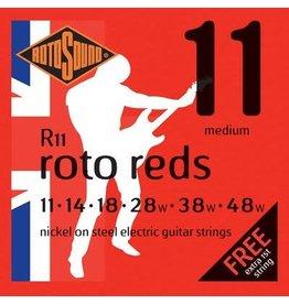 Rotosound Rotosound RH11 snarenset elektrisch, nickel wound, 11-48, medium