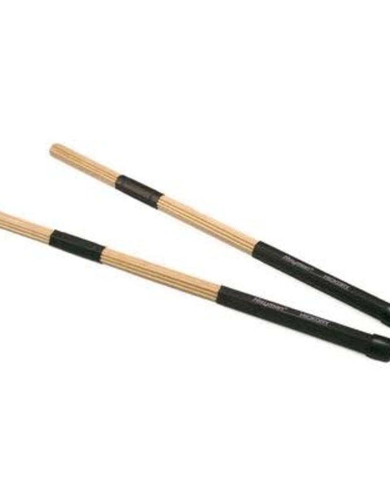 """Drumstok """"rods""""  esdoorn, zwart handvat"""