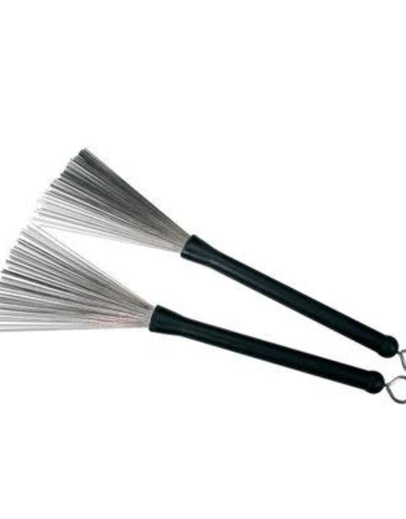 Brushes standaard uitschuifbaar met rubber handvaten