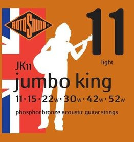 Rotosound Rotosound JK11 phosphor bronze wound, 11-52, light