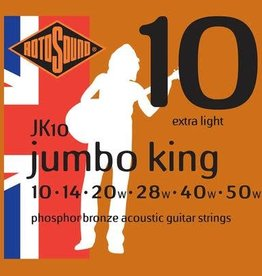 Rotosound Rotosound JK10  phosphor bronze wound, 10-50, light
