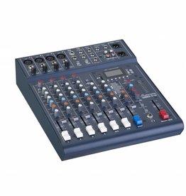 Studiomaster Studiomaster Club XS 8 compacte mixer, 6 kanalen, 8 ingangen