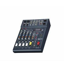 Studiomaster Studiomaster Club XS 6 compacte mengtafel, 4 kanalen, 6 ingangen